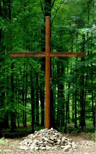 Bild Kreuz an der Andachtsstelle
